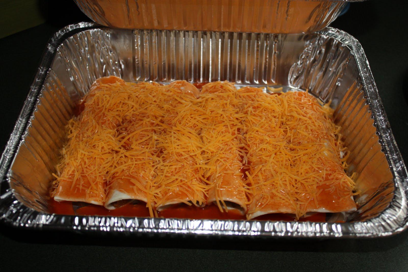 Easy Freezer Beef Enchiladas - Mostly Homemade Mom