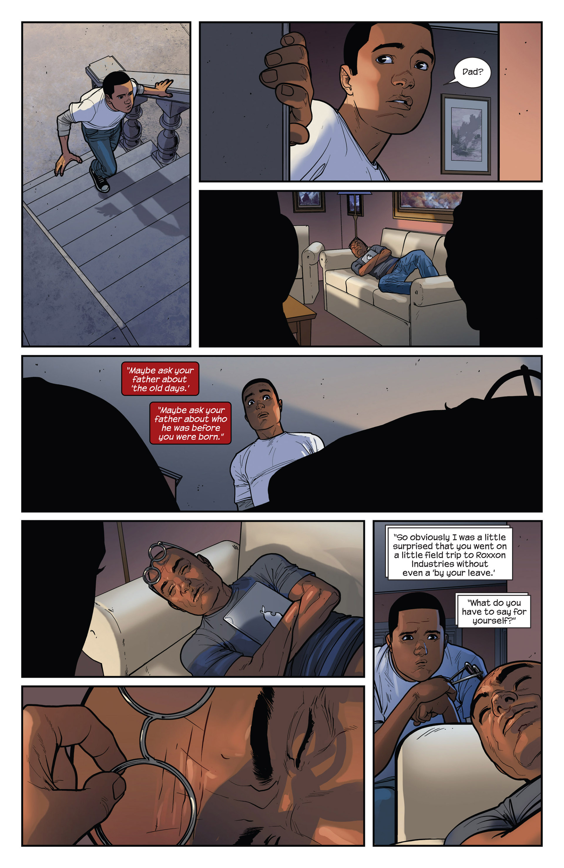 Read online Ultimate Comics Spider-Man (2011) comic -  Issue #28 - 21
