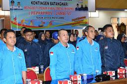 Verry Ardiansyah Lepas Kontingen Paralimpik Batanghari ke Paraprov ke VI Jambi
