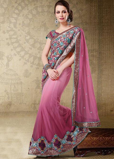 foto artis india pake baju sari