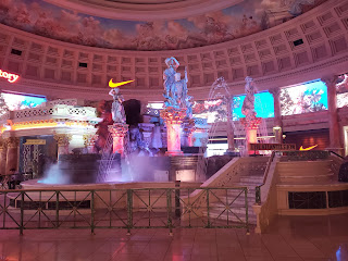 The Fall of Atlantis Show at the Forum Shops at Caesar's Palace in Las Vegas Nevada