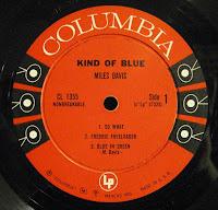 Miles Davis Kind of Blue Columbia 6 Eye Mono Label
