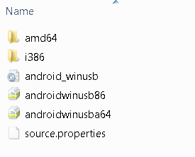 Android USB Drivers Windows