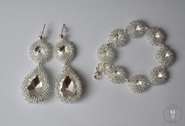 Komplet (mojej) biżuterii ślubnej