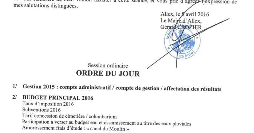 L 39 avis d 39 allex deux r unions annonc es - Pacte energie solidarite avis ...