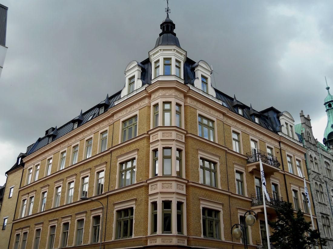 Angolo con Västra Vallgatan