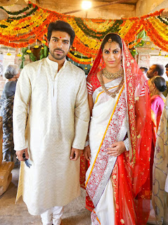 Actor Ram Charan Marriage Photos