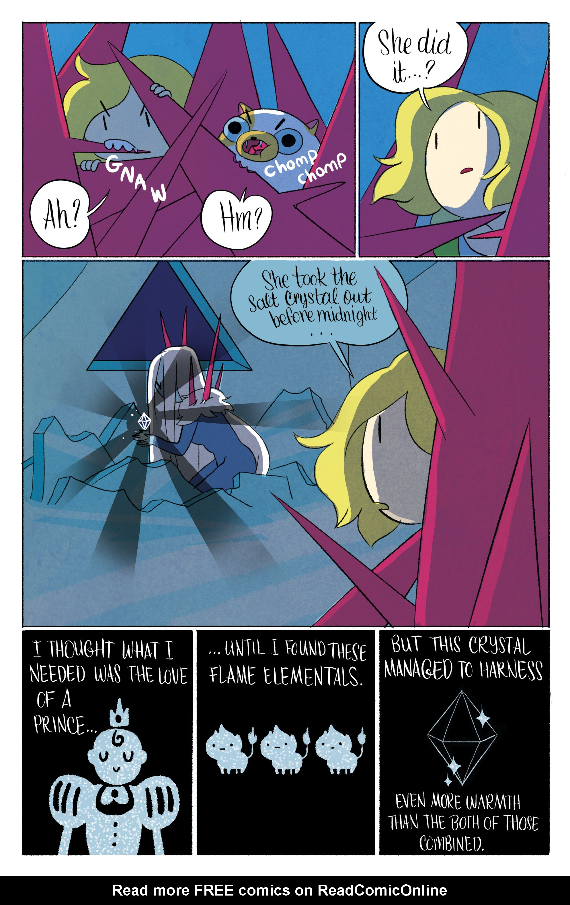 Read online Adventure Time with Fionna & Cake comic -  Issue #6 - 16