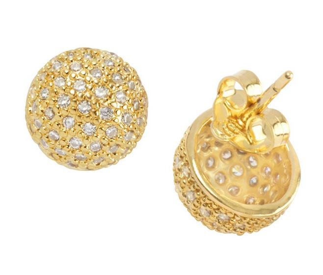 brincos pequenos dourados
