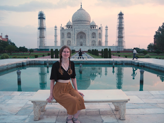 Taj Mahal Princess Diana bench