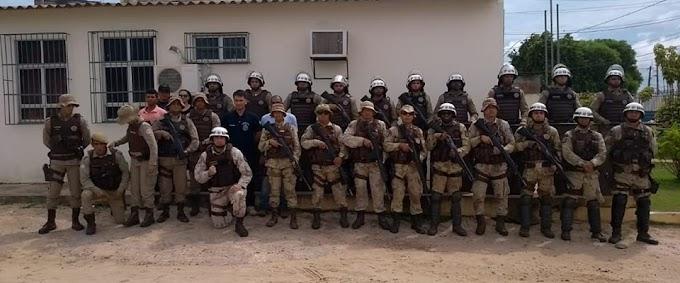 Polícia realiza revista na Delegacia Territorial de Morro do Chapéu