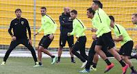 Η αποστολή των παικτών της ΑΕΚ για το ματς στην Τούμπα με τον ΠΑΟΚ