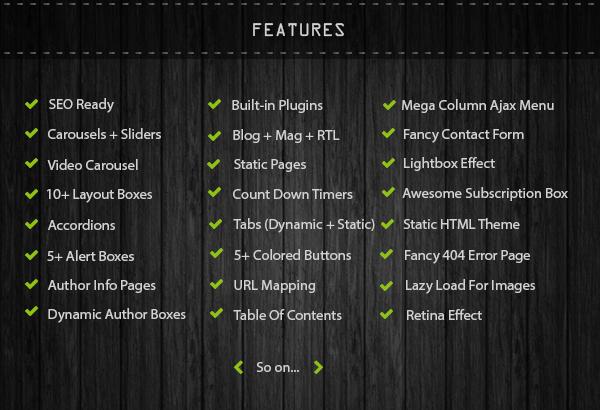 features of copmo
