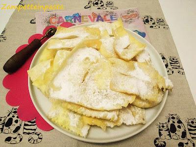 Galani o Chiacchiere - Ricetta di Carnevale