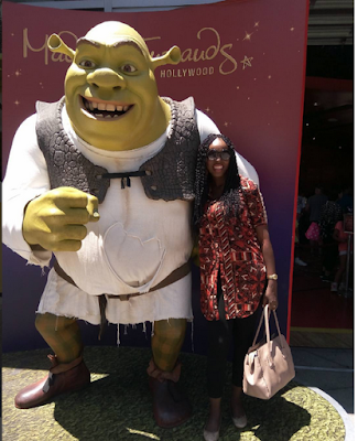 Award Winning Actress, Grace Edwin-Okon Tours California In Pictures