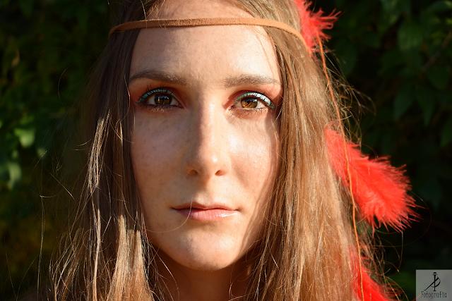 Pocahontas - sesja zdjęciowa