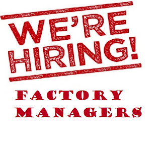 Image result for hiring Factory Manager