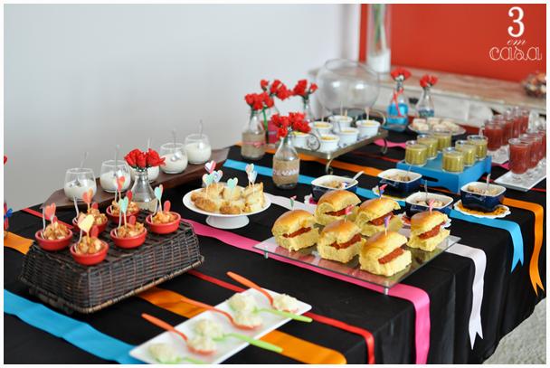mesa comidas juninas