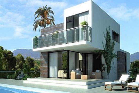 Imagenes de fachadas de casas de dos pisos modernas for Fachadas de casas segundo piso