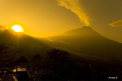 foto sunrise di ketep pass
