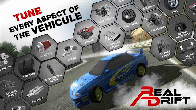 Real Drift Car Racing Unlimited Money Apk
