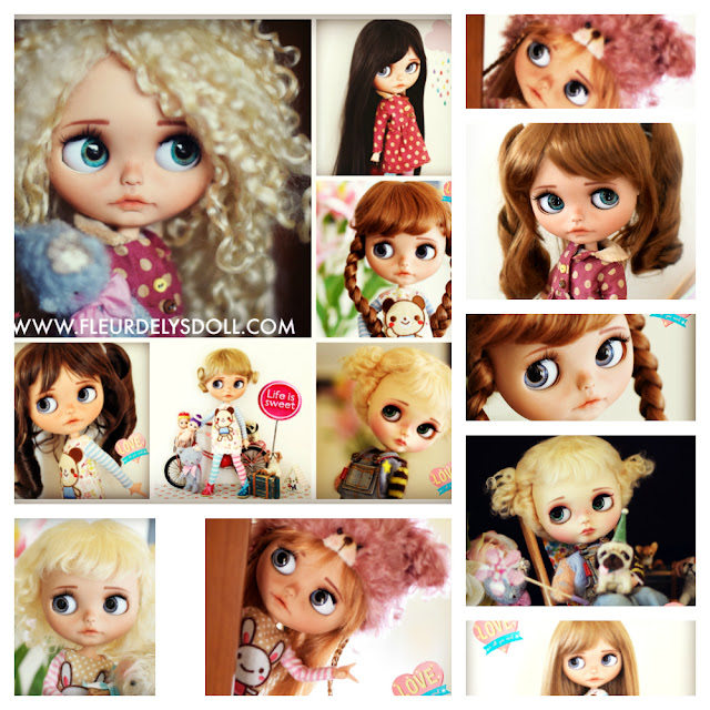 NEW BLYTHE WIGS AVAILABLE