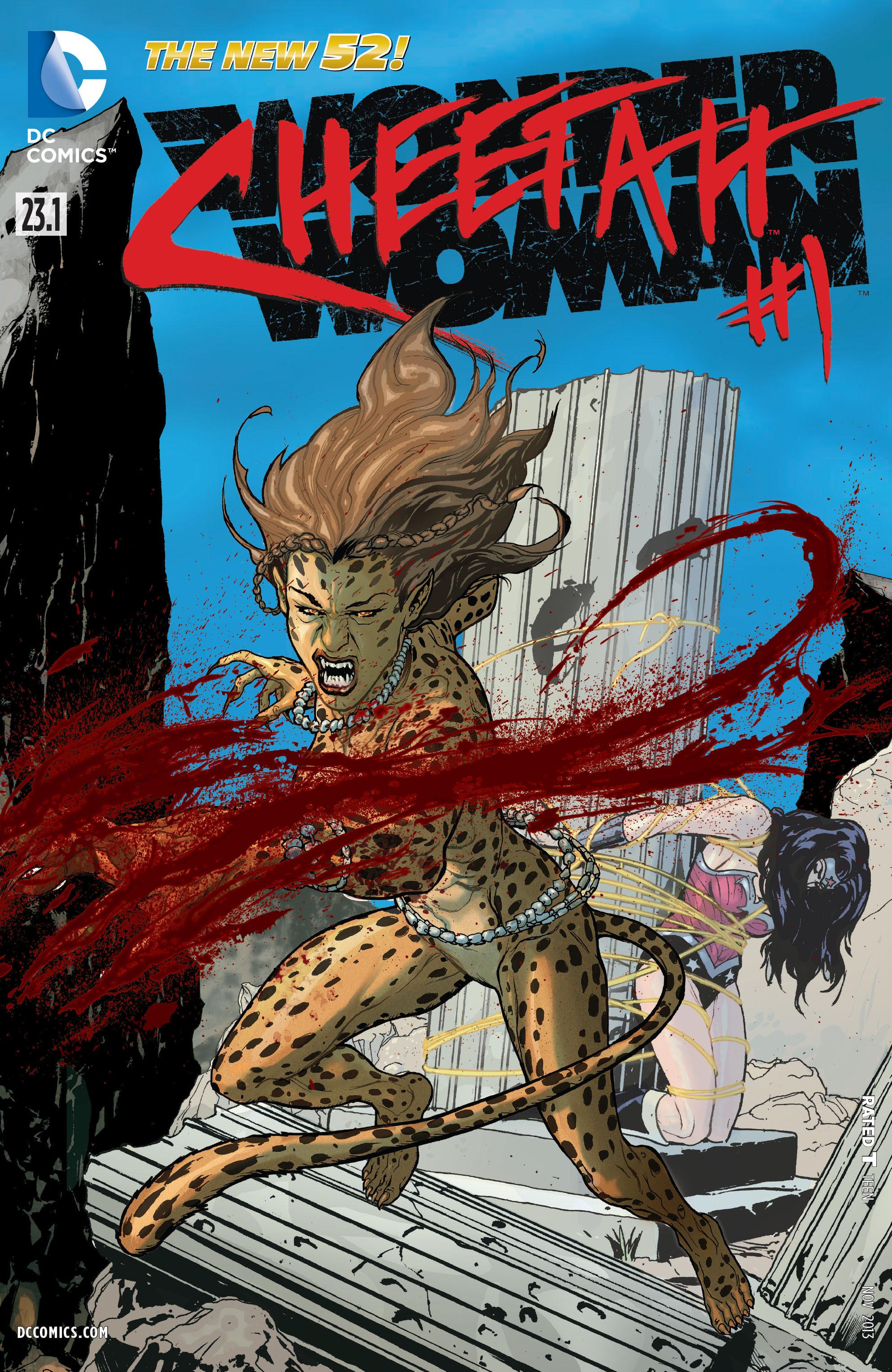 Read online Wonder Woman (2011) comic -  Issue #23.1 - 1