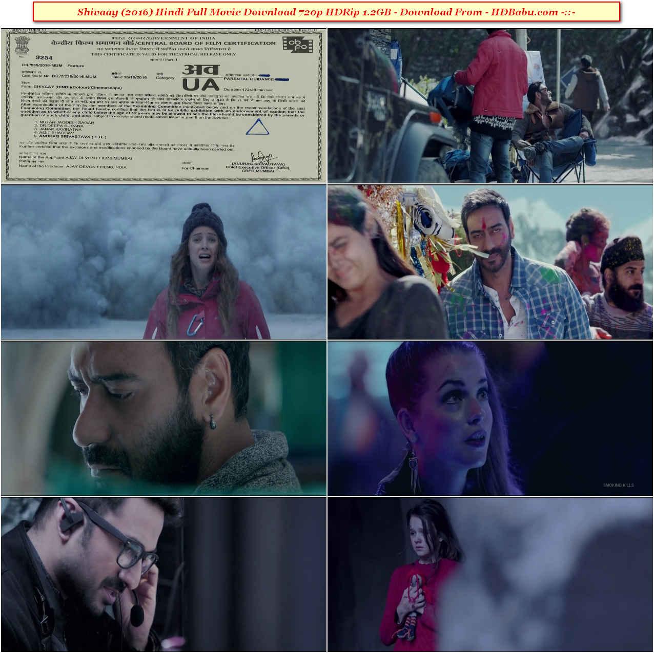 Shivaay Full Movie Download