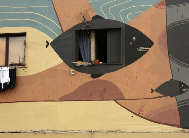 Уличный художник из Италии. Агостино Якурчи (Agostino Iacurci) 21