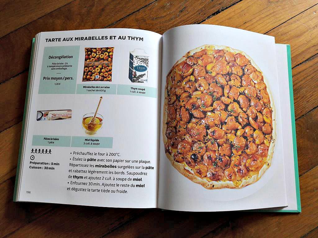 Le livre de cuisine simplissime les recettes picard la for Cuisine 7000 euros