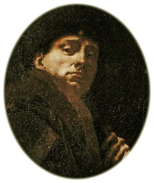 Giovanni Battista Piazzetta, Self Portrait, Portraits of Painters, Fine arts, Portraits of painters blog, Paintings of Giambattista Piazzetta, Painter Giambattista Piazzetta, Battista Piazzetta