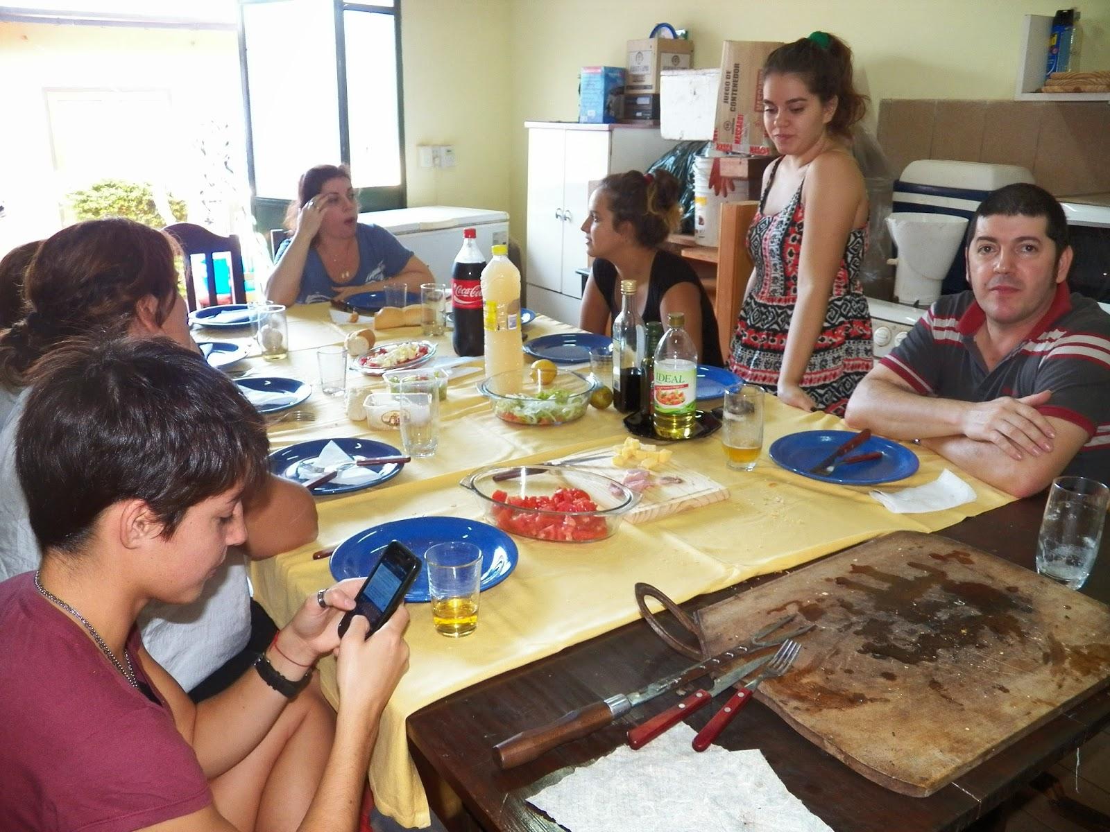 voyage argentine 2013 2014 rotary youth exchange repas en famille. Black Bedroom Furniture Sets. Home Design Ideas