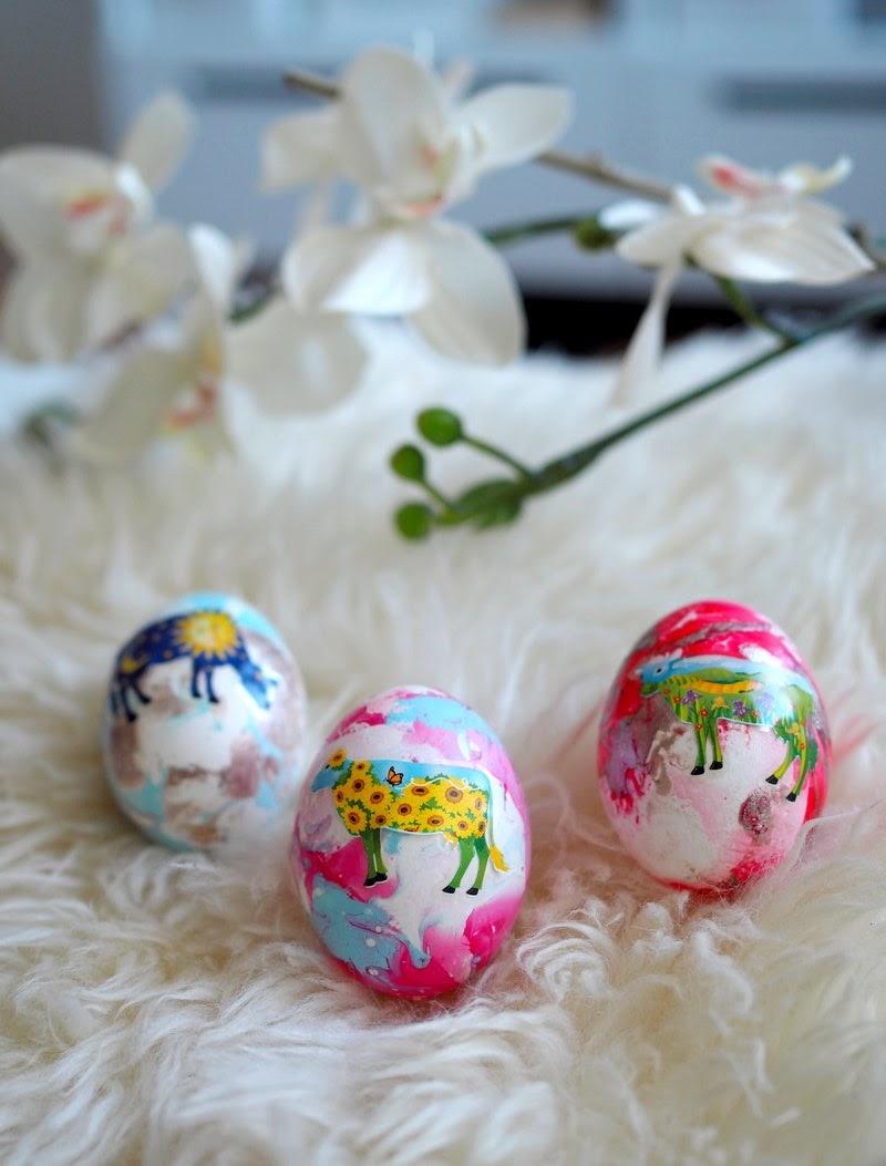 pääsiäismuna koristely diy