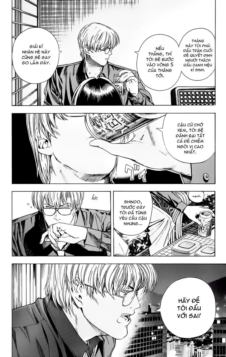 Hikaru No Go hikaru no go chap 124 trang 9