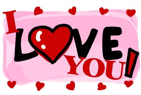 Kumpulan Animasi Gambar I Love You Terbaru - Naranua