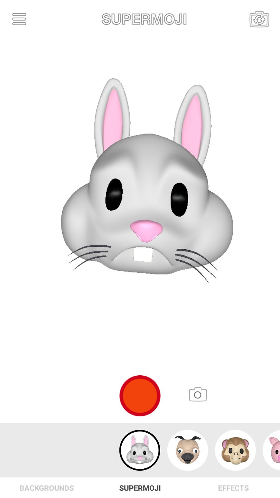 Sad Rabbit Supermoji