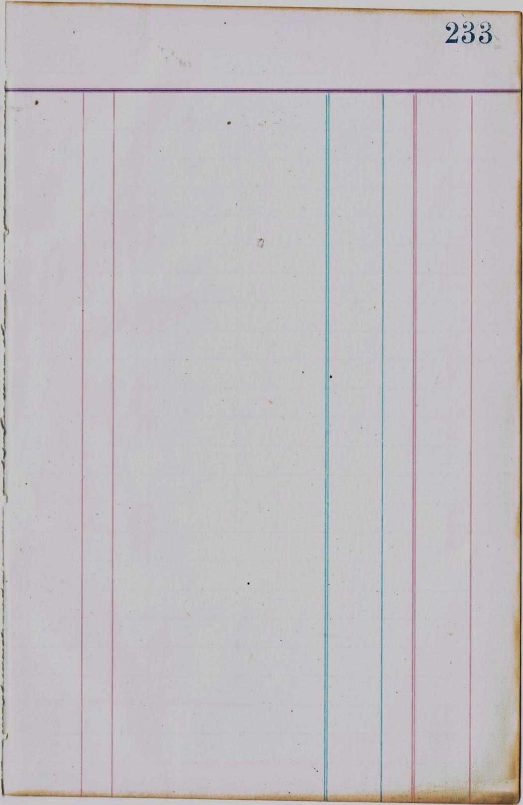 photo regarding Printable Ledger Page called 8 Blank Ledger Paper - Resume Illustrations Resume Template
