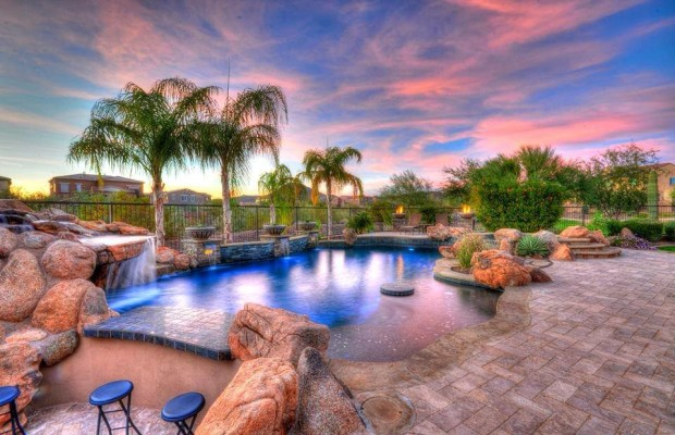 Luxury backyard - Elegant