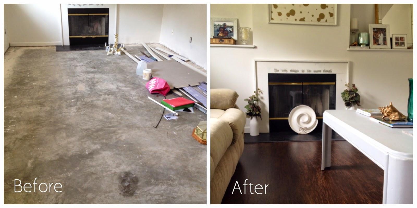 DIY Shaw Flooring Install