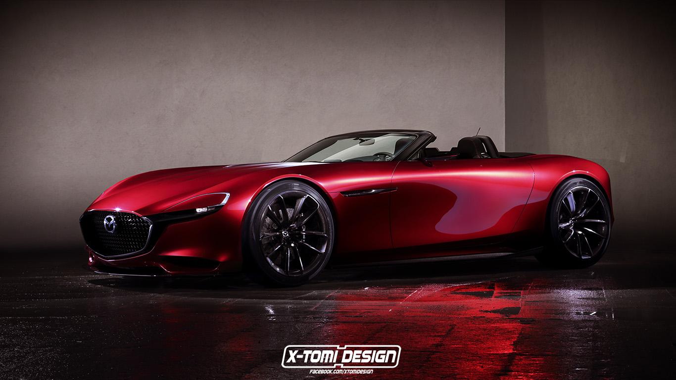 X-Tomi Design: Mazda RX-Vision Roadster