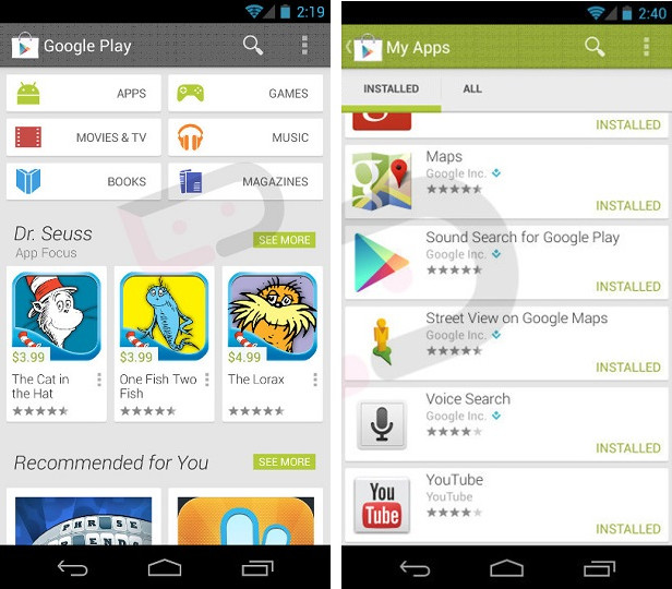 Google Play Store Online