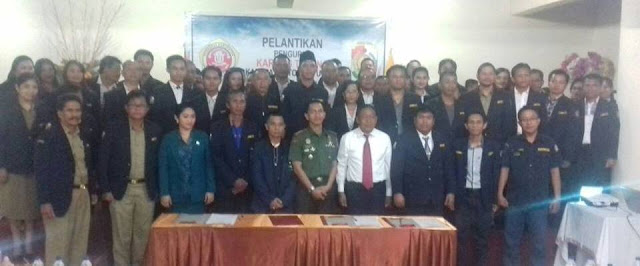 Yosia Resmi Pimpin Karang Taruna Toraja Utara