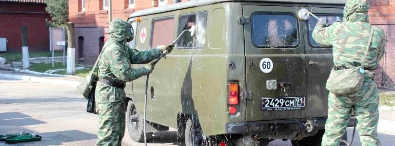 У російській армії виявлено понад 2000 випадків COVID-19