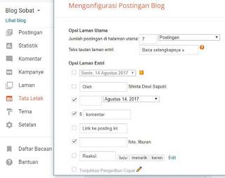 Setelah teman berhasil menciptakan blog di blogger dengan domain  Cara Merubah Setingan Dasar Blogger