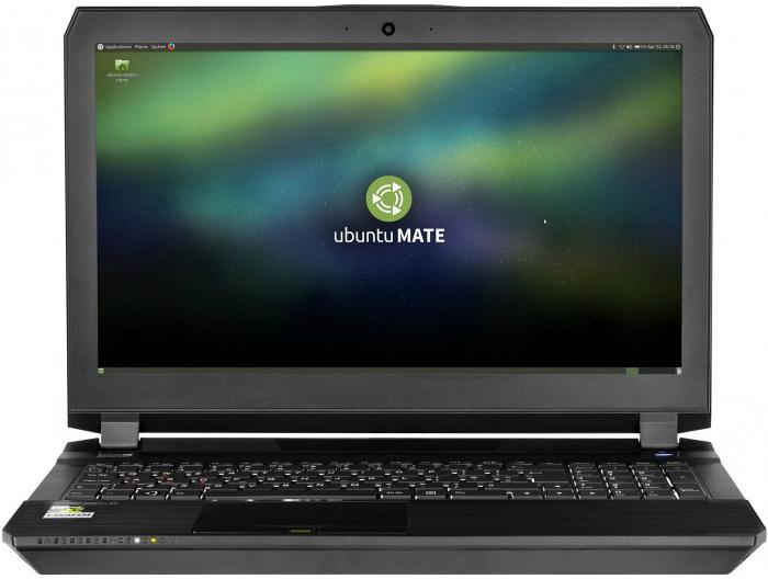 Notebook Athena com o Ubuntu Mate 16.04 LTS.