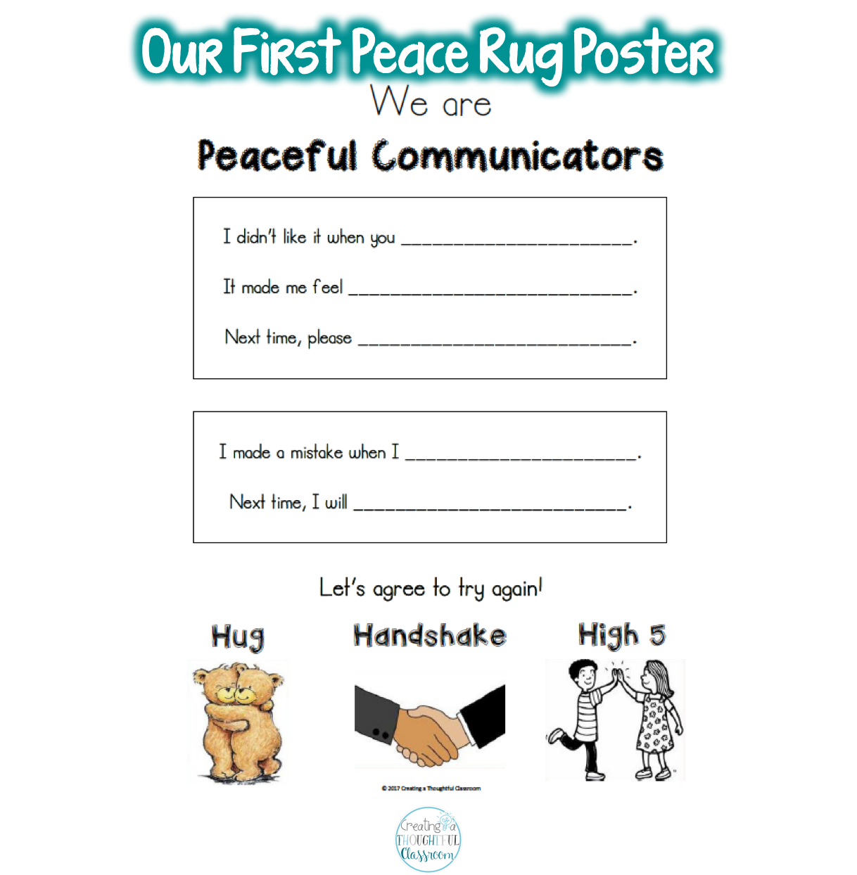 5 Simple Steps For Teaching Conflict Resolution To Early