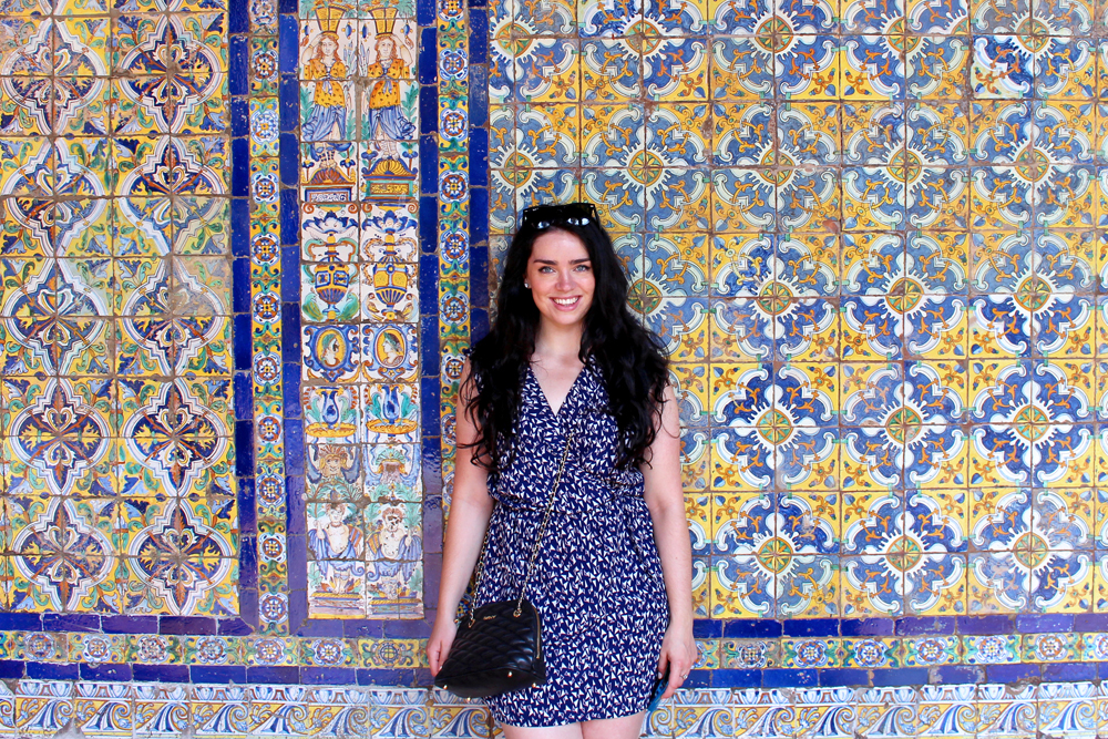 Emma Louise Layla and coloured tiles in Lima, Peru - travel & lifestyle blog