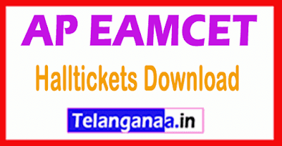 Andhra Pradesh  EAMCET APEAMCET  Halltickets Download