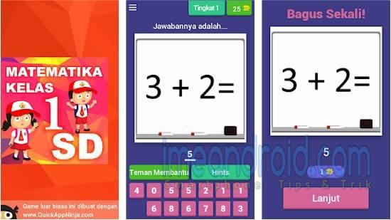 Aplikasi belajar matematika sd kelas 1