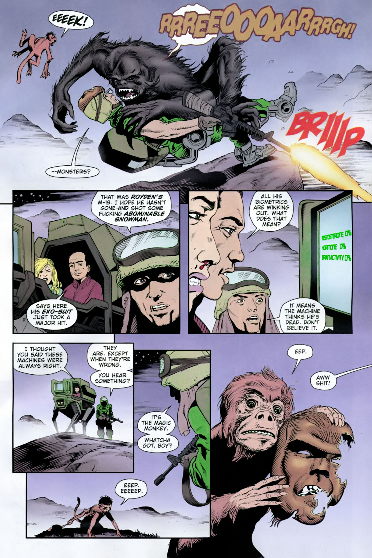 Read online Army @ Love comic -  Issue #12 - 8